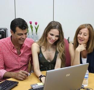 Videochat con Andoni Ferreño, Esperanza Elipe y Vanesa Romero