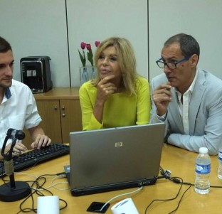 Videochat con Bibiana Fernández y Manuel Bandera