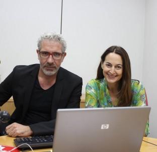 Videochat con Eduardo Velasco y Cuca Escribano