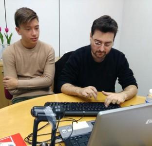 SEMINCI: Videochat con Alberto Morais y Javier Mendo