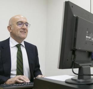 Videochat con el presidente de la Diputación de Valladolid