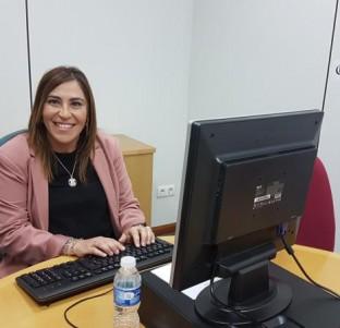 Videochat con la alcaldesa de Rueda