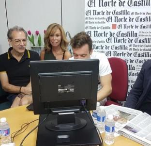 Videochat con Lara Dibildos, Antonio Albella, Lucía Gil y Javier Pascual