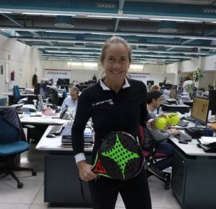 Deja tus preguntas para la jugadora de pádel Carolina Navarro